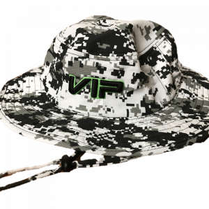 9c77a6cddd9 VIP Bucket Hat – Camo Black Neon Green